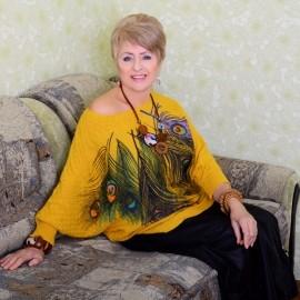 Charming miss Elena, 70 yrs.old from Berdyansk, Ukraine