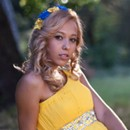 single lady Maryna, 19 yrs.old from Cherkassy, Ukraine