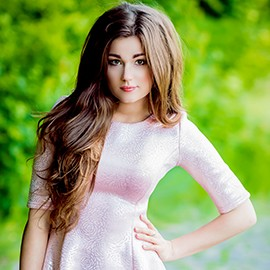 Charming mail order bride Anastasiya, 25 yrs.old from Kiev, Ukraine
