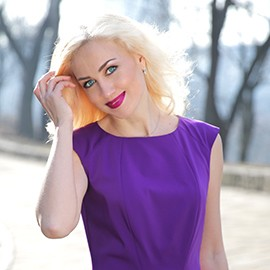 Charming wife Olesia, 39 yrs.old from Kiev, Ukraine