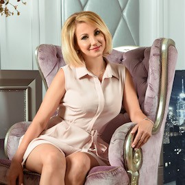 Pretty bride Irina, 50 yrs.old from Kiev, Ukraine