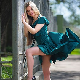 Gorgeous bride Valeriya, 19 yrs.old from Konstantinovka, Ukraine