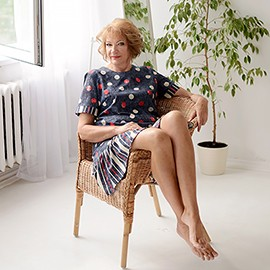 Pretty mail order bride Marina, 59 yrs.old from Pskov, Russia