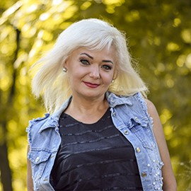 Single woman Alla, 54 yrs.old from Poltava, Ukraine