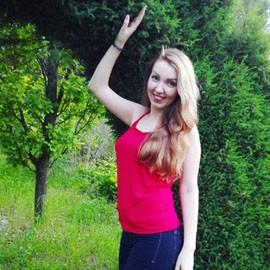 Charming wife Yana, 24 yrs.old from Kharkiv, Ukraine