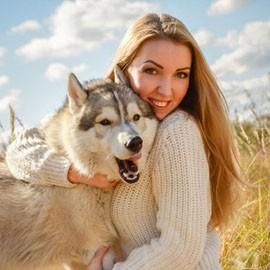 Pretty wife Yana, 24 yrs.old from Kharkiv, Ukraine