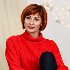 Charming pen pal Svetlana, 46 yrs.old from Dnipro, Ukraine