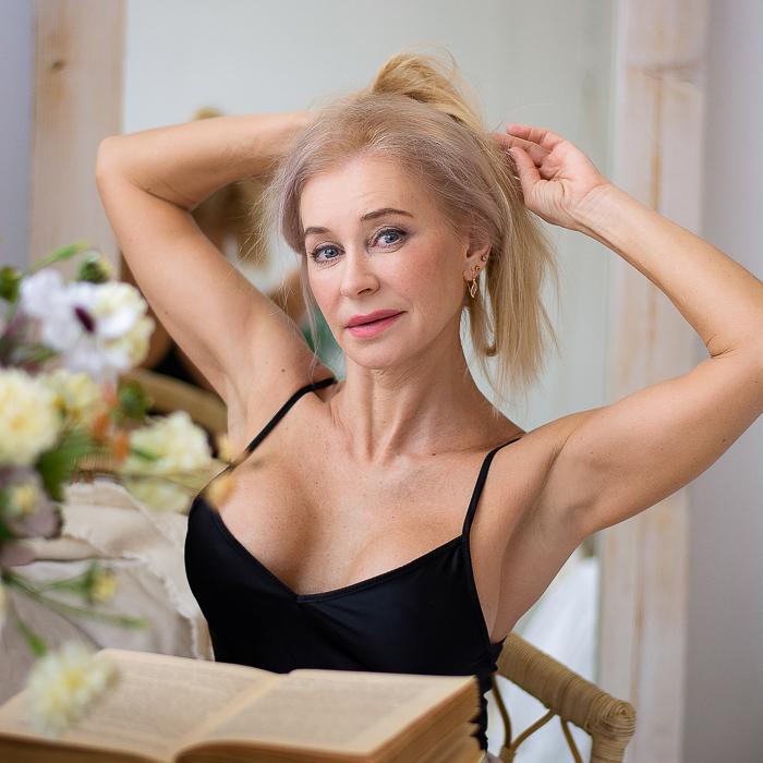 beautiful mail order bride Olga, 51 yrs.old from Saint-Petersburg, Russia