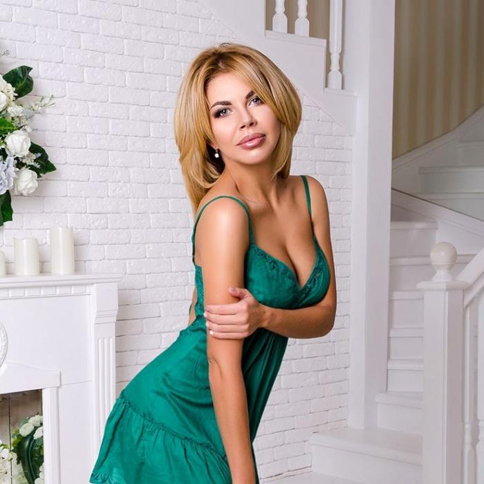 single bride Yuliya, 34 yrs.old from Nikopol, Ukraine