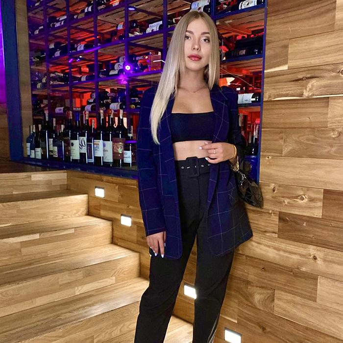 Sexy miss Anastasiya, 20 yrs.old from Kiev, Ukraine