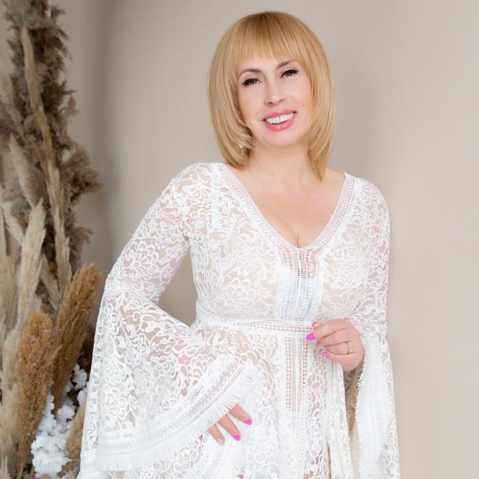 Pretty wife Svetlana, 48 yrs.old from Kiev, Ukraine