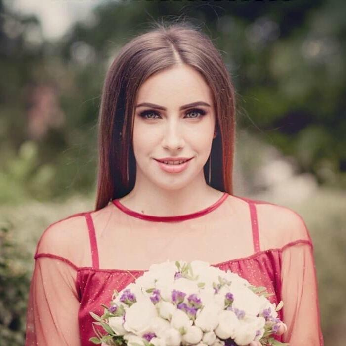 single lady Anna, 25 yrs.old from Lugansk, Ukraine