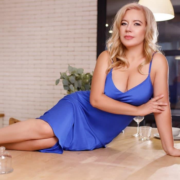 Single pen pal Anna, 41 yrs.old from Kiev, Ukraine